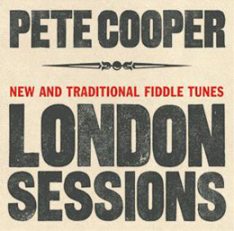 Pete Cooper CD Sleeve - London Sessions. Click for more details.